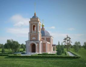 Эскизный проект восстановления церкви Богоявления Господня, г....