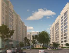 Проект застройки жилого комплекса, г. Тольятти.