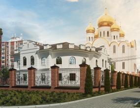 Здание епархиального управления при Казанском кафедральном соб...