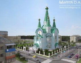 Эскизный проект Церкви, г. Москва