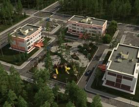 Визуализация жилых домов в Подмосковье