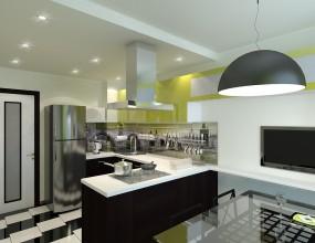Дизайн кухни из модулей IKEA