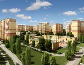 ЗD визуализация жилого района «Новые Островцы»