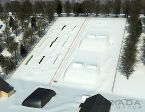 Первый сноуборд парк в Казани